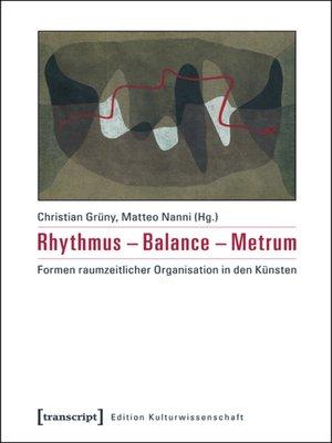 cover image of Rhythmus