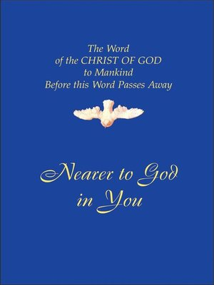 cover image of Nearer to God in You