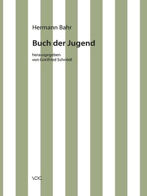 cover image of Buch der Jugend