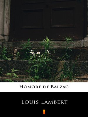 cover image of Louis Lambert