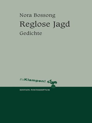 cover image of Reglose Jagd