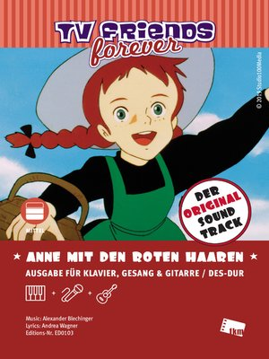 cover image of Anne mit den roten Haaren