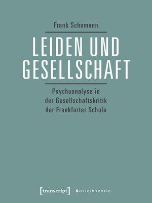 cover image of Leiden und Gesellschaft