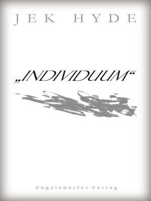 cover image of »INDIVIDUUM«