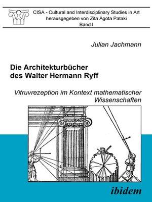 cover image of Die Architekturbücher des Walter Hermann Ryff