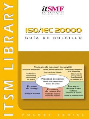 cover image of ISO / IEC 20000--Guía de bolsillo--A Pocket Guide