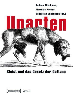 cover image of Unarten