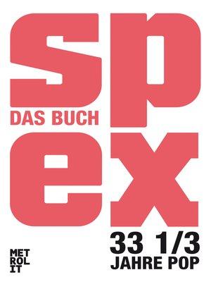 cover image of Spex