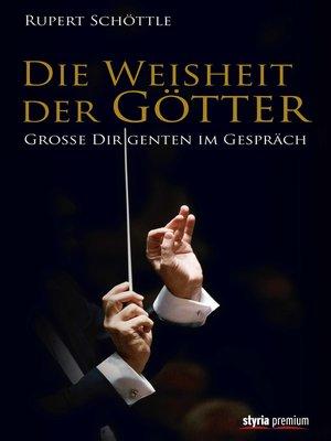 cover image of Die Weisheit der Götter