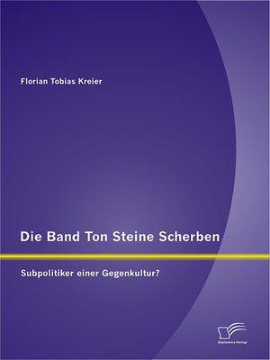 cover image of Die Band Ton Steine Scherben