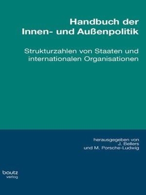 cover image of Handbuch der Innen- und Außenpolitik