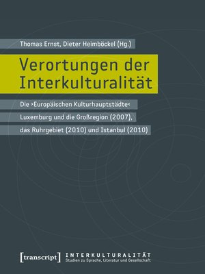 cover image of Verortungen der Interkulturalität