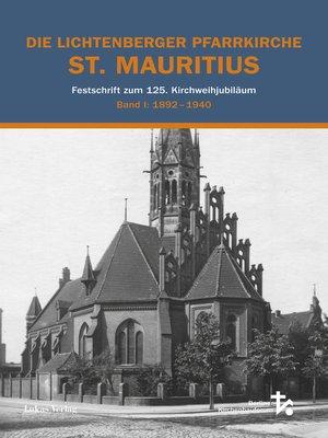 cover image of Die Lichtenberger Pfarrkirche St. Mauritius