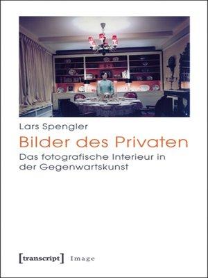 cover image of Bilder des Privaten