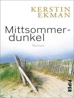 cover image of Mittsommerdunkel