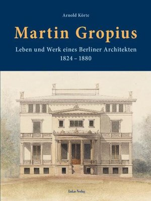 cover image of Martin Gropius