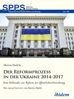 cover image of Der Reformprozess in der Ukraine 2014-2017