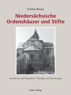 cover image of Niedersächsische Ordenshäuser und Stifte