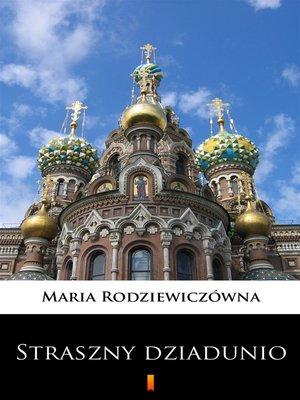 cover image of Straszny dziadunio