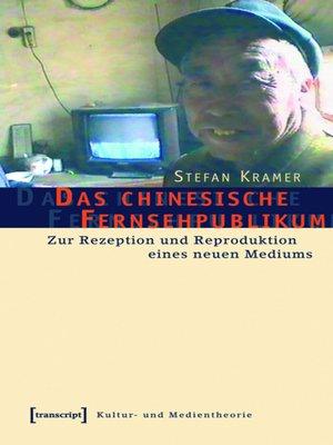 cover image of Das chinesische Fernsehpublikum