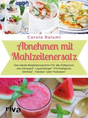 cover image of Abnehmen mit Mahlzeitenersatz