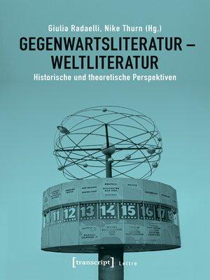 cover image of Gegenwartsliteratur