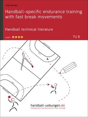 cover image of Handball-specific endurance training with fast break movements (TU 8)