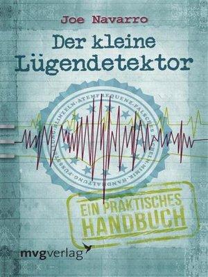 cover image of Der kleine Lügendetektor