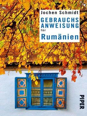 cover image of Gebrauchsanweisung für Rumänien