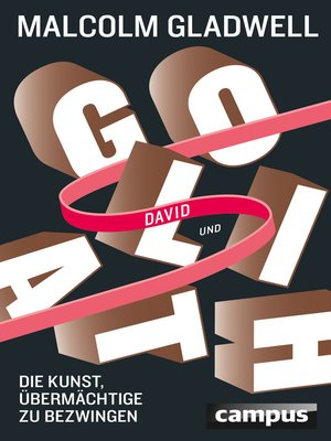 cover image of David und Goliath