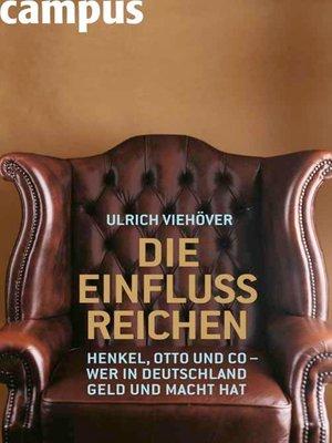 cover image of Die EinflussReichen