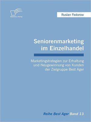 cover image of Seniorenmarketing im Einzelhandel