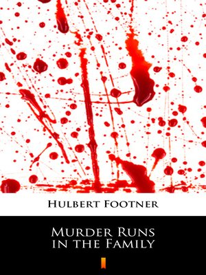 cover image of Murder Runs in the Family