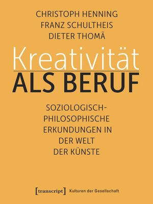 cover image of Kreativität als Beruf