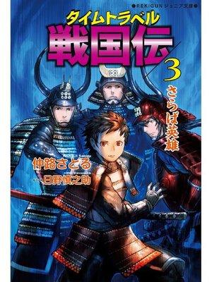 cover image of タイムトラベル戦国伝3 さらば英雄