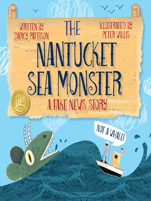 cover image of The Nantucket Sea Monster