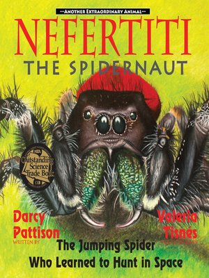 cover image of Nefertiti, the Spidernaut