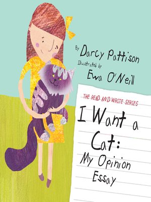 cover image of I Want a Cat