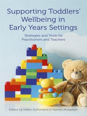 cover image of Supporting Toddlers' Wellbeing in Early Years Settings