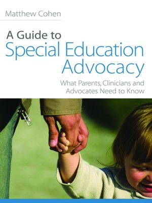 cover image of A Guide to Special Education Advocacy