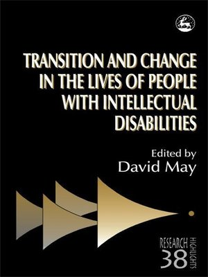 cover image of Transition and Change in the Lives of People with Intellectual Disabilities