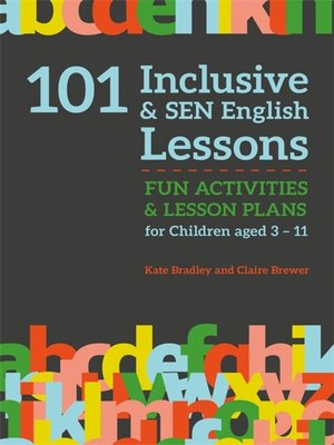 cover image of 101 Inclusive and SEN English Lessons