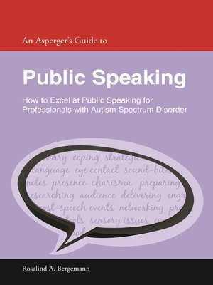 cover image of An Asperger's Guide to Public Speaking