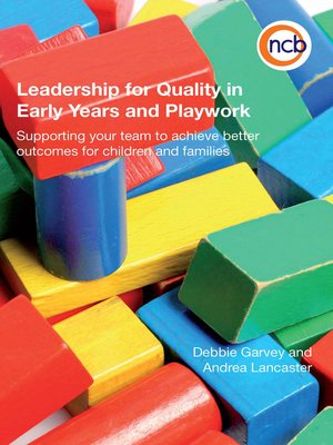 cover image of Leadership for Quality in Early Years and Playwork