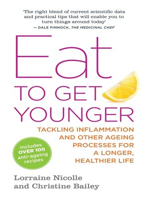 cover image of Eat to Get Younger