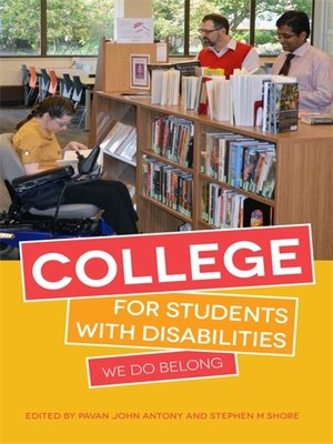 cover image of College for Students with Disabilities