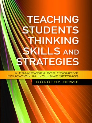 cover image of Teaching Students Thinking Skills and Strategies