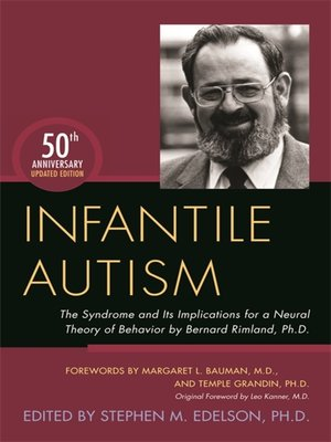 cover image of Infantile Autism