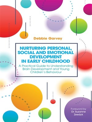 cover image of Nurturing Personal, Social and Emotional Development in Early Childhood