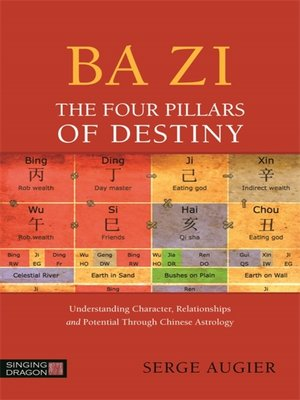 cover image of Ba Zi--The Four Pillars of Destiny